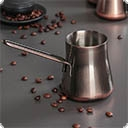 Турки и аксессуары Турка, она же джезва- это один из вариантов посуды для приготовления кофе. Дата появления первого приспособления, похожего на современную джезву, теряется в веках.Изначально джезва для кофе называлась «раквой» - по имени султана Абу аль-Валида Ракве. Со временем ...