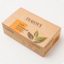 Чай зеленый TEAJOYS (ТиДжойс), упаковка 100 саше по 2 г, китайский с жасмином