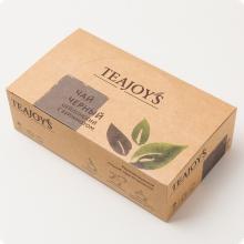 Чай черный TEAJOYS (ТиДжойс), упаковка 100 саше по 2 г, цейлонский с бергамотом