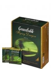 Чай зеленый Greenfield Flying Dragon (Гринфилд Флаинг Дракон), 100 пакетиков